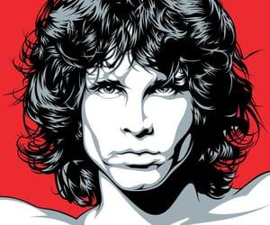 boy and Jim Morrison image