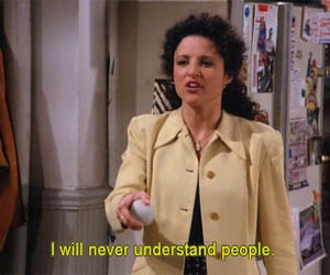 people, seinfeld, and understand image