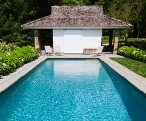 land, patio, and pool image
