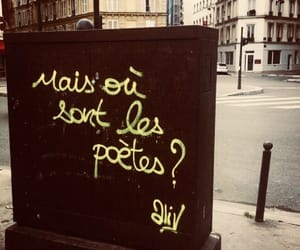 french, poetry, and tag image