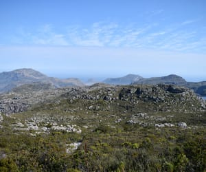 table mountain and south africa image