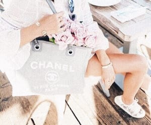 chanel, indie, and flower image