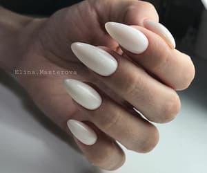 nail art, white, and nail polish image