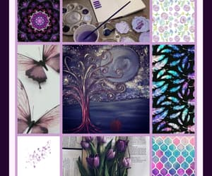 violet and 💜 image