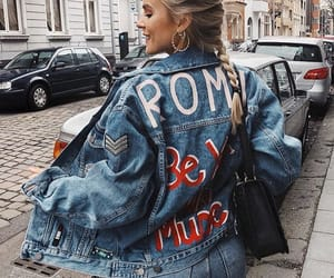 fashion, style, and denim image
