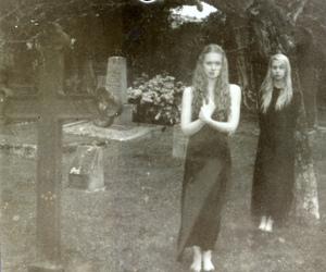 graveyard, work in progress, and polaroid slr 680 image
