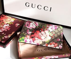 bags, floral, and gucci image