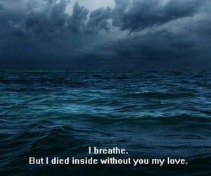 breathe, broken, and deep image