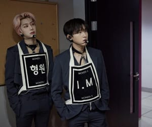 kpop, wonho, and monsta x image