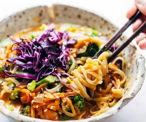 noodles and coconut image