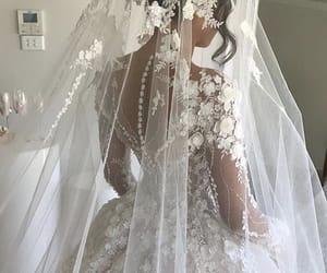 Blanc, dentelle, and mariage image