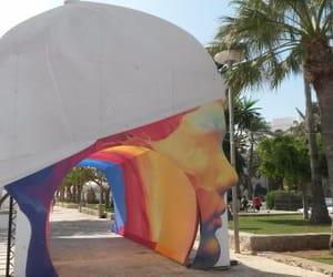 color, entrance, and ibiza image