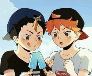haikyuu, anime, and hinata shouyou image