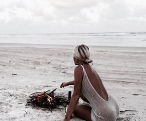 beach, summer, and goals image