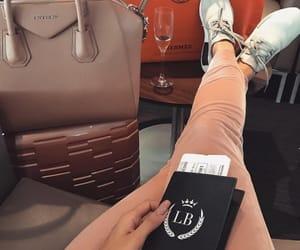 travel, girl, and passport image
