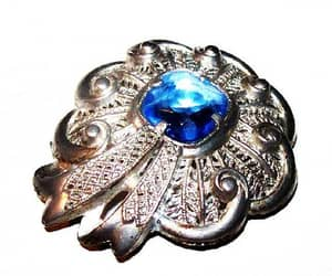etsy, vintage jewelry, and art deco brooch image