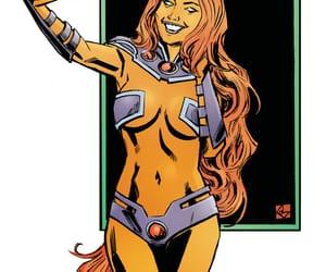 dc comics, starfire, and koriand'r image