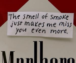 smoke, cigarette, and marlboro image
