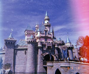 california, castle, and disney image