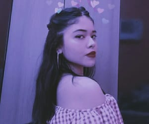 80s, flor, and purple image