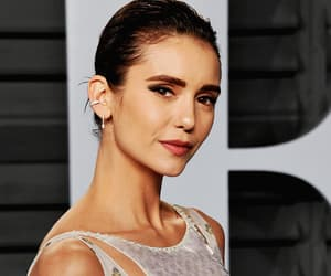 Nina Dobrev, oscar party, and Vanity Fair image