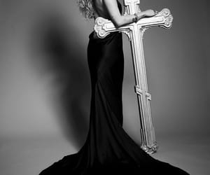 dark dress, met gala, and dress image