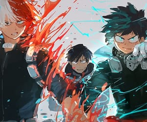 boku no hero academia, my hero academia, and midoriya image