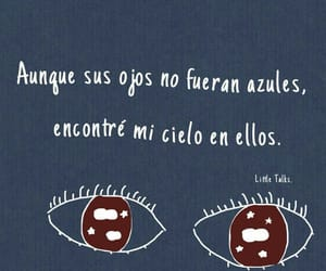 love, eyes, and frases image