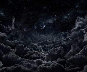 night sky, stars, and universe image