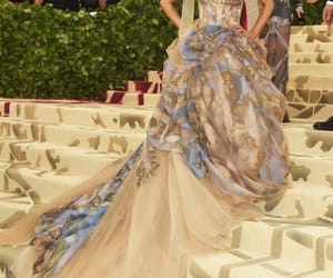 ariana grande, met gala, and dress image