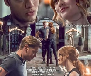 beautiful, clace, and dominic sherwood image