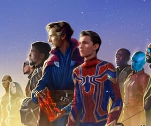 Avengers, black panther, and falcon image