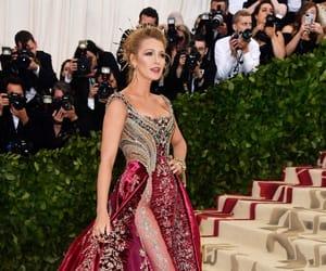blake lively, fashion, and met gala image