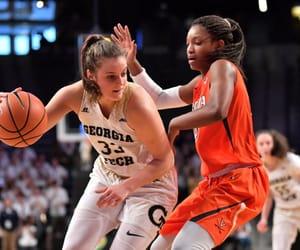 Basketball, defense, and girls image