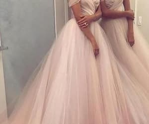 wedding dress, evening dress, and prom dress image