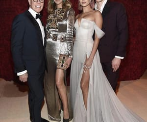 met gala, hailey baldwin, and shawn mendes image