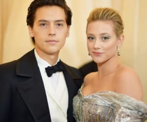 lili reinhart, cole sprouse, and met gala image