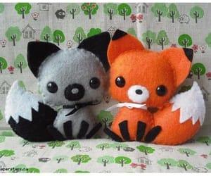 animals, love, and fox image