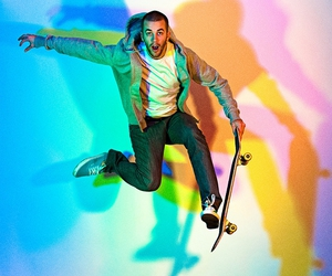 365, colorful, and skate image