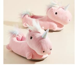 unicorn, cute, and slippers image