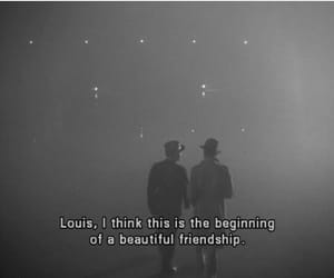 Casablanca, friendship, and quotes image