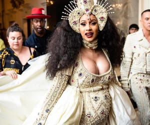 cardi b, celebrity, and met gala image