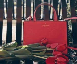 bag, fashion, and flamingo image