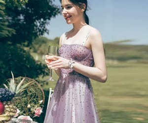 dior, lilac, and Prom image
