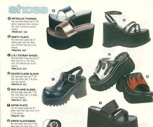 90s, fashion, and plataforma image