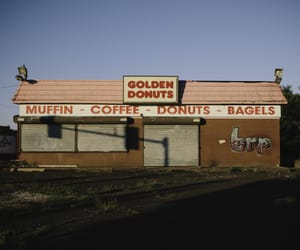 american dream, donuts, and fast food image
