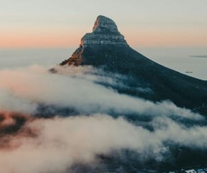 cape town western cape, landscape adventure, and mountains fog image