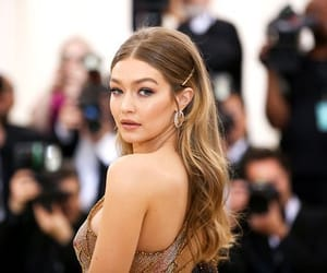 met gala and gigi hadid image
