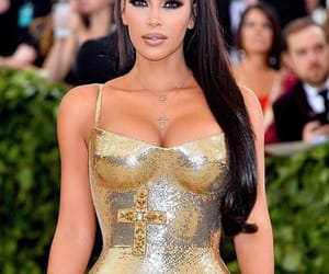 red carpet, fashion, and kim kardashian image