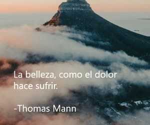 frases, thomas mann, and sufrir image